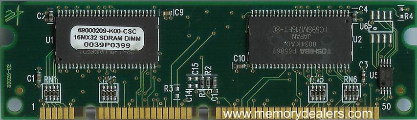 Hardware 64MB Approved memory, Cisco 2600XM Series SDRAM DIMM (p/n: MEM2600XM-64D=) Router Memory Transceiver Module