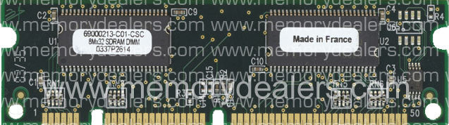 Hardware 64MB Approved memory, Cisco 1700 Series SDRAM DIMM (p/n: MEM1700-64D=) Router Memory Transceiver Module