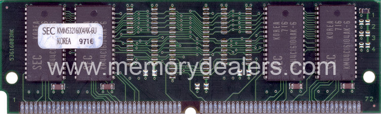 Memory 64MB Approved memory, Cisco MC3810 Series DRAM SIMM (p/n: MEM-381-1X64D=) Router Memory Transceiver Module