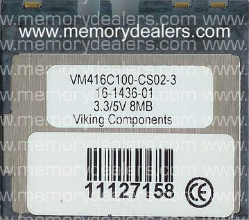 Memory 8MB Approved memory, Cisco 800 Series MiniFlash (p/n: MEM800-8F=) Router Memory Transceiver Module