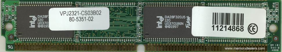 Memory 8MB Approved AS5350 Cisco Boot Flash SIMM memory (p/n: MEM-8BF-AS535=) Access Server Memory Transceiver Module