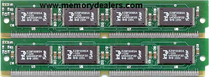 Memory 8MB Approved memory, Cisco 4000 Series Flash SIMM (p/n: MEM-4000-8F=) Router Memory Transceiver Module