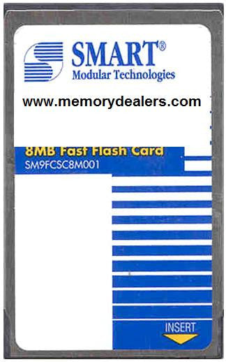 Memory 8MB Approved memory, Cisco 3600 Series Flash Card (p/n: MEM3600-8FC=) Router Memory Transceiver Module