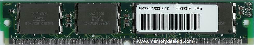 Hardware 8MB Approved memory, Cisco 3100, 3200 Series Flash SIMM (p/n: MEM-1X8F=) Router Memory Transceiver Module