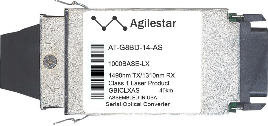 Allied Telesis AT-G8BD-14-AS (Agilestar Original) GBIC Transceiver Module
