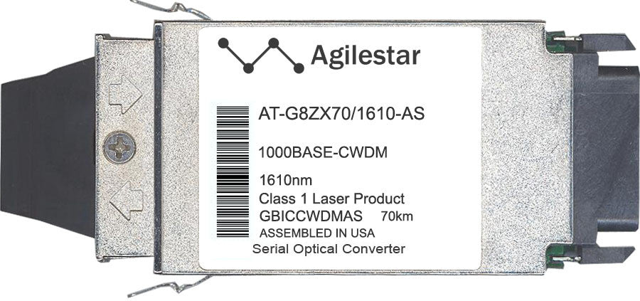 Allied Telesis AT-G8ZX70/1610-AS (Agilestar Original) GBIC Transceiver Module