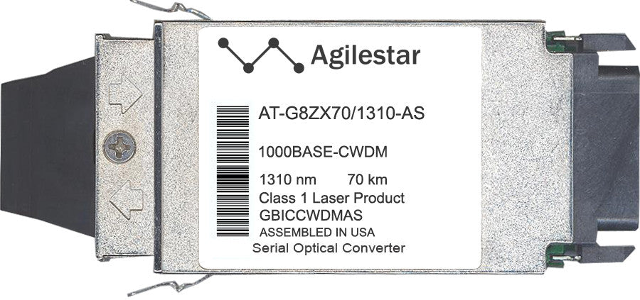 Allied Telesis AT-G8ZX70/1310-AS (Agilestar Original) GBIC Transceiver Module