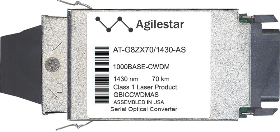 Allied Telesis AT-G8ZX70/1430-AS (Agilestar Original) GBIC Transceiver Module