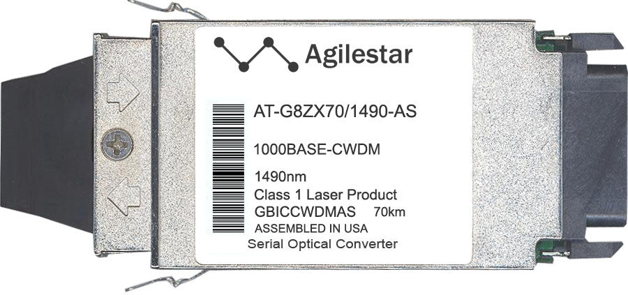 Allied Telesis AT-G8ZX70/1490-AS (Agilestar Original) GBIC Transceiver Module
