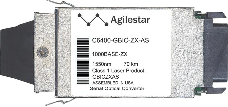 Cisco GBIC Transceivers C6400-GBIC-ZX-AS (Agilestar Original) GBIC Transceiver Module