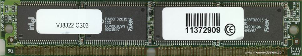 Memory 64MB Approved AS5400 Cisco Flash SIMM memory (p/n: MEM-64F-AS54=) Access Server Memory Transceiver Module