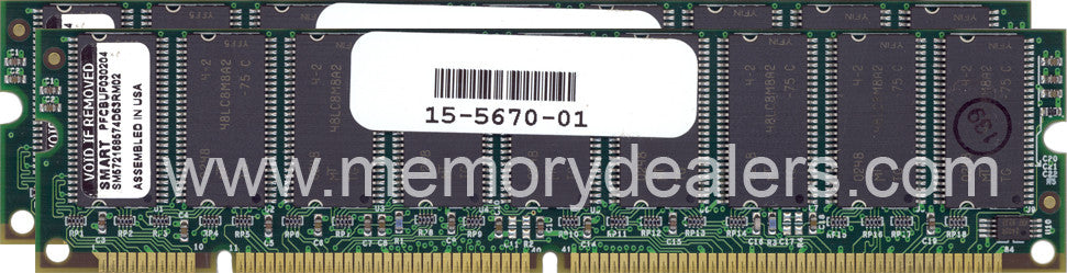 Memory 256MB Approved AS5400 Cisco SDRAM DIMM memory (p/n: MEM-256M-AS54=) Access Server Memory Transceiver Module