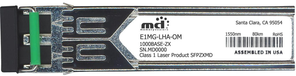 Foundry Networks E1MG-LHA-OM (100% Foundry Compatible) SFP Transceiver Module