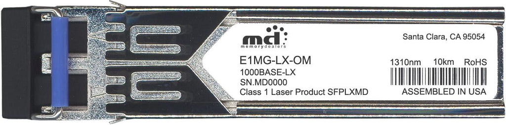 Foundry Networks E1MG-LX-OM (100% Foundry Compatible) SFP Transceiver Module