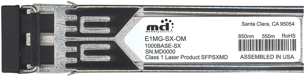 Foundry Networks E1MG-SX-OM (100% Foundry Compatible) SFP Transceiver Module