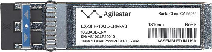 Juniper Networks EX-SFP-10GE-LRM-AS (Agilestar Original) SFP+ Transceiver Module