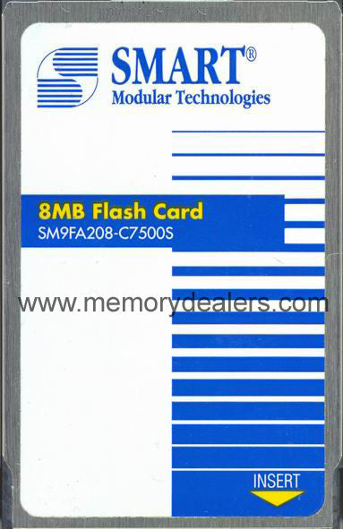 Memory 8MB Approved memory, Cisco RSP Linear Flash (p/n: MEM-RSP-FLC8M=) Route Processors - RP,RSP,CIP2,GRP,ESR,GSR Transceiver Module