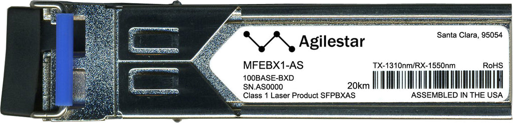 Linksys MFEBX1-AS (Agilestar Original) SFP Transceiver Module