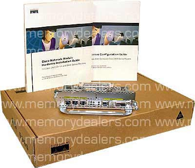 Hardware 4-port Ethernet network module (p/n NM-4E) Network Modules Transceiver Module