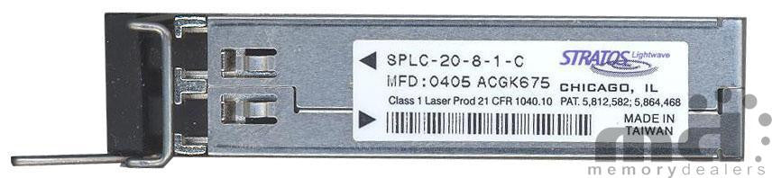 Stratos Lightwave SPLC-20-8-1-C (Stratos Original) SFP Transceiver Module
