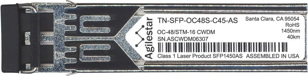 Transition Networks TN-SFP-OC48S-C45-AS (Agilestar Original) SFP Transceiver Module