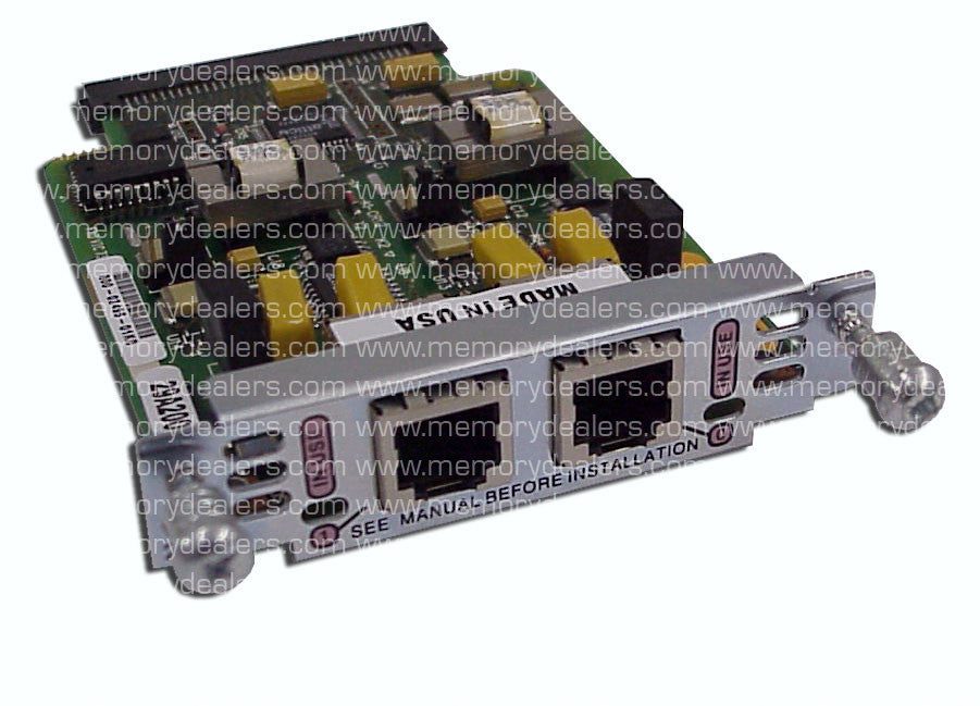 Hardware VIC-2FXO  Cisco hardware Network Modules Transceiver Module