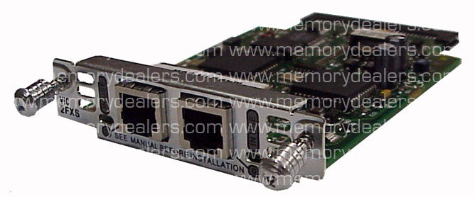 Hardware VIC-2FXS Cisco hardware Hardware Specials Transceiver Module