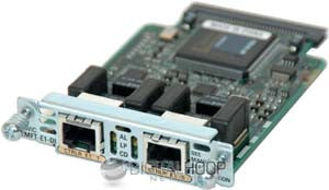 Hardware VWIC-2MFT-E1-DI Network Modules Transceiver Module