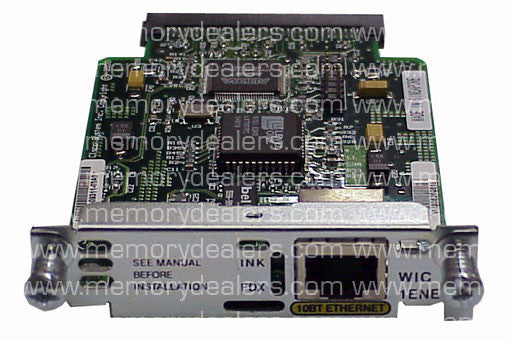 Hardware WIC-1ENET Hardware Specials Transceiver Module