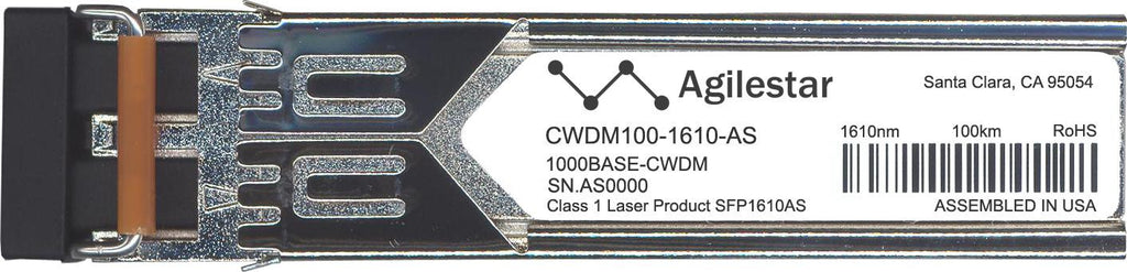 Foundry Networks CWDM100-1610-AS (Agilestar Original) SFP Transceiver Module