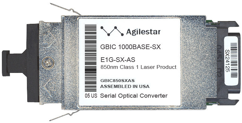 Foundry Networks E1G-SX-AS (Agilestar Original) GBIC Transceiver Module