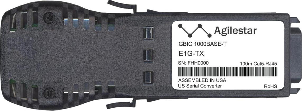Foundry Networks E1G-TX-AS (Agilestar Original) GBIC Transceiver Module