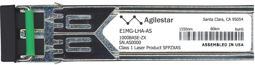 Foundry Networks E1MG-LHA-AS (Agilestar Original) SFP Transceiver Module