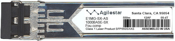 Foundry Networks E1MG-SX-AS (Agilestar Original) SFP Transceiver Module