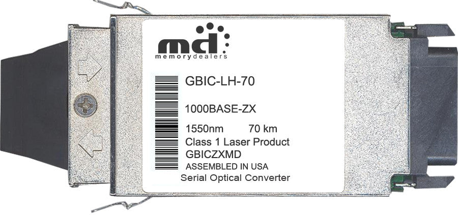 Alcatel-Lucent GBIC-LH-70 (100% Alcatel Compatible) GBIC Transceiver Module