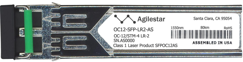 Foundry Networks OC12-SFP-LR2-AS (Agilestar Original) SFP Transceiver Module
