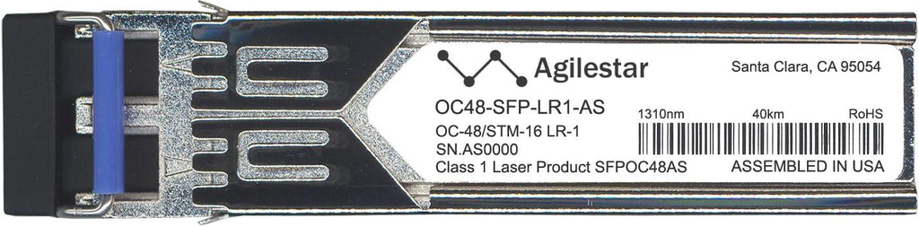 Foundry Networks OC48-SFP-LR1-AS (Agilestar Original) SFP Transceiver Module