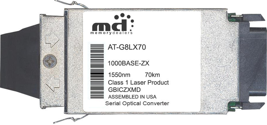Allied Telesis AT-G8LX70 (100% Allied Telesis Compatible) GBIC Transceiver Module