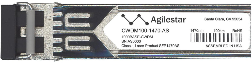 Foundry Networks CWDM100-1470-AS (Agilestar Original) SFP Transceiver Module