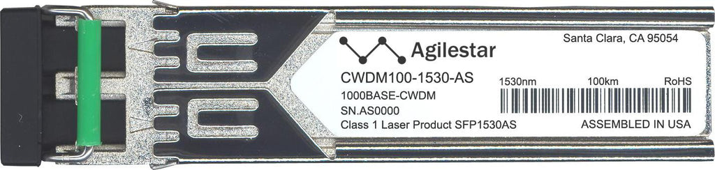 Foundry Networks CWDM100-1530-AS (Agilestar Original) SFP Transceiver Module