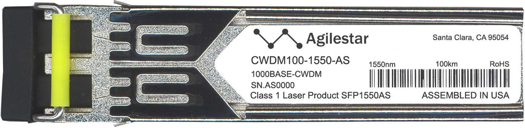 Foundry Networks CWDM100-1550-AS (Agilestar Original) SFP Transceiver Module