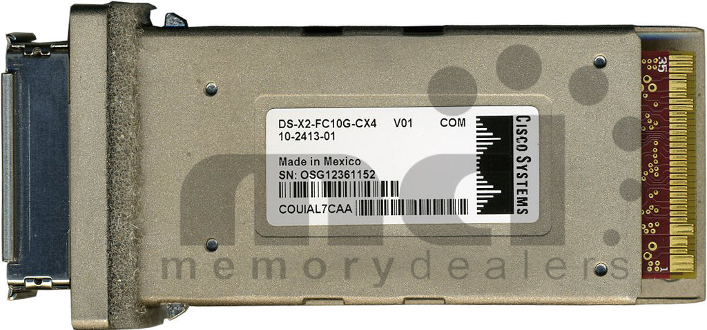 Cisco X2 Transceivers DS-X2-FC10G-CX4 (Cisco Original) X2 Transceiver Module