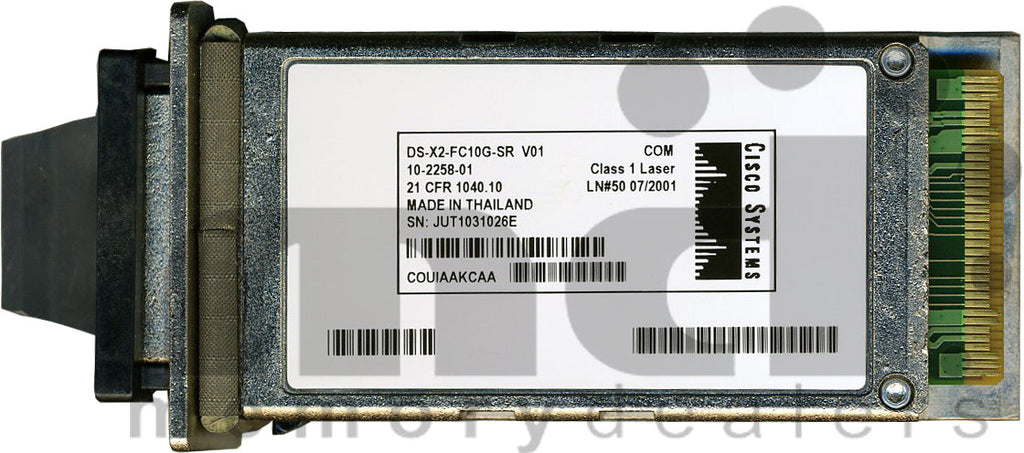Cisco X2 Transceivers DS-X2-FC10G-SR (Cisco Original) X2 Transceiver Module