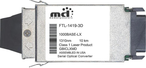 Finisar FTL-1419-3D (100% Finisar Compatible) GBIC Transceiver Module