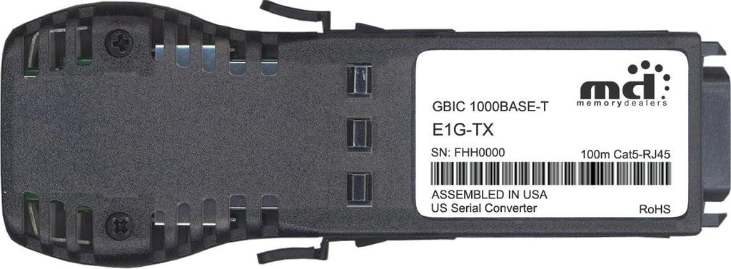 Foundry Networks E1G-TX (100% Foundry Compatible) GBIC Transceiver Module