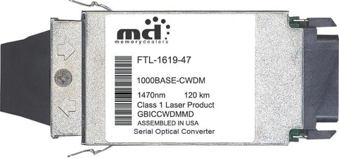 Finisar FTL-1619-47 (100% Finisar Compatible) GBIC Transceiver Module