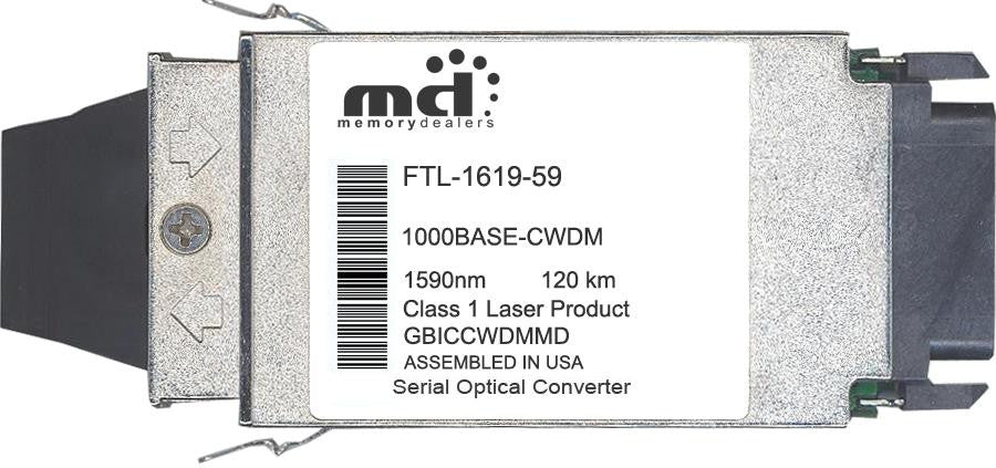 Finisar FTL-1619-59 (100% Finisar Compatible) GBIC Transceiver Module