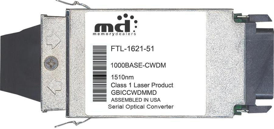 Finisar FTL-1621-51 (100% Finisar Compatible) GBIC Transceiver Module