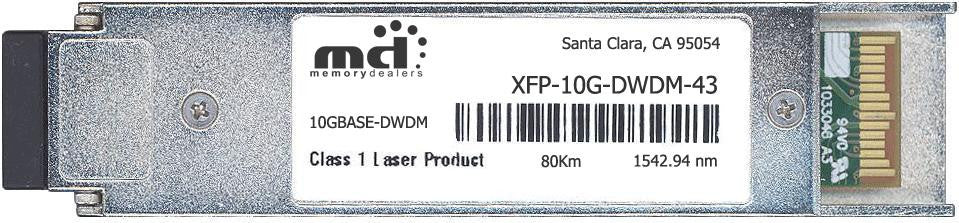 Alcatel XFP-10G-DWDM-43 (100% Alcatel-Lucent Compatible) XFP Transceiver Module