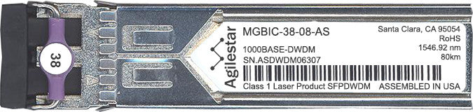 Enterasys MGBIC-38-08-AS (Agilestar Original) SFP Transceiver Module